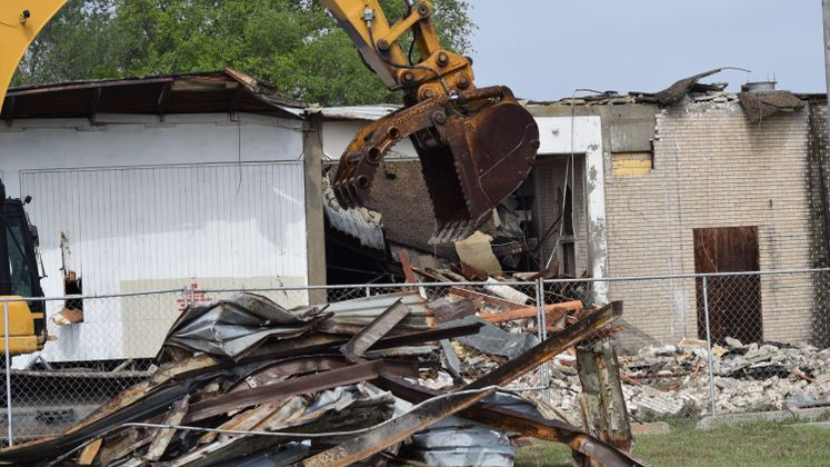 Booker T. Washington School Demolition