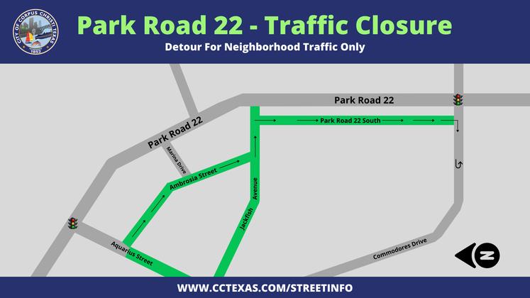 Park Road 22 Detours - May 2021 16