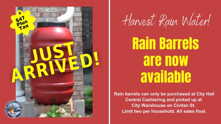 Rain Barrels UPDATE