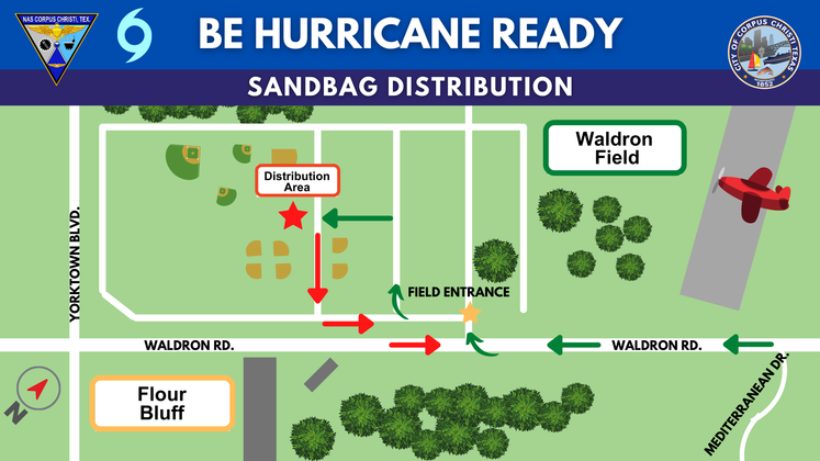 Waldron Field Sandbag Dist 6-09-21