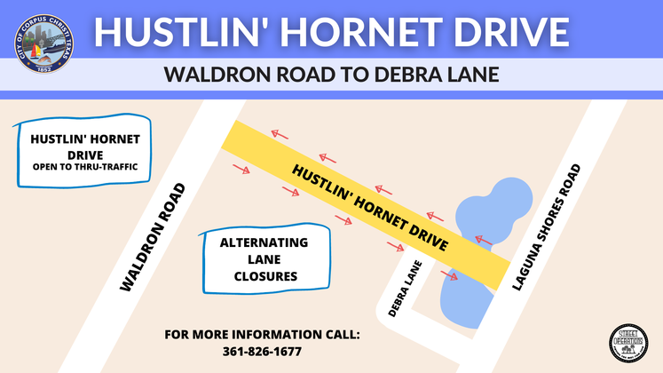 HUSTLIN HORNET MAP graphic