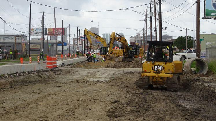 Leopard Street Reconstruction Project