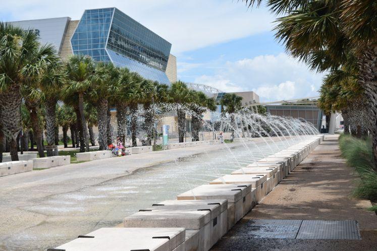 Shoreline Water Fountain