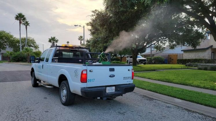 Mosquito Spraying Vector Control