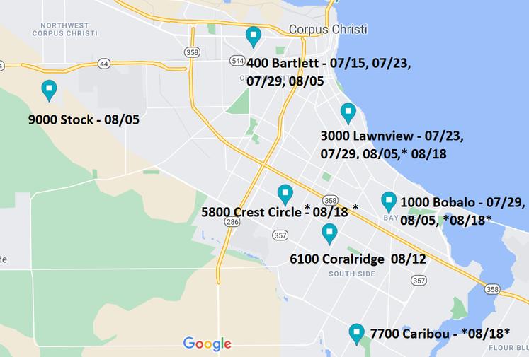 Positive Site Map 08.18.21 DATES