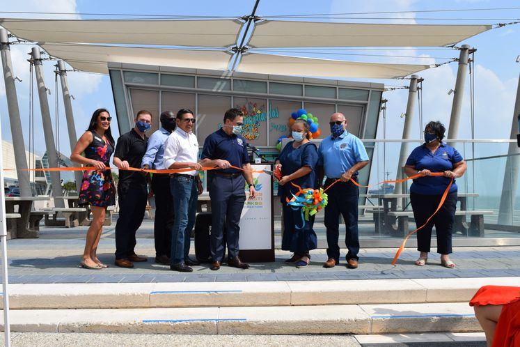 Bayfront Fountain Ribbon Cutting Ceremony