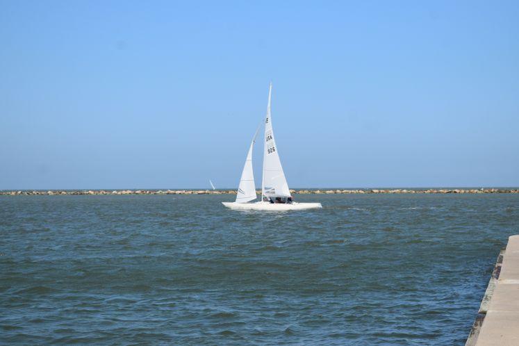 Sailboat at CC Bay