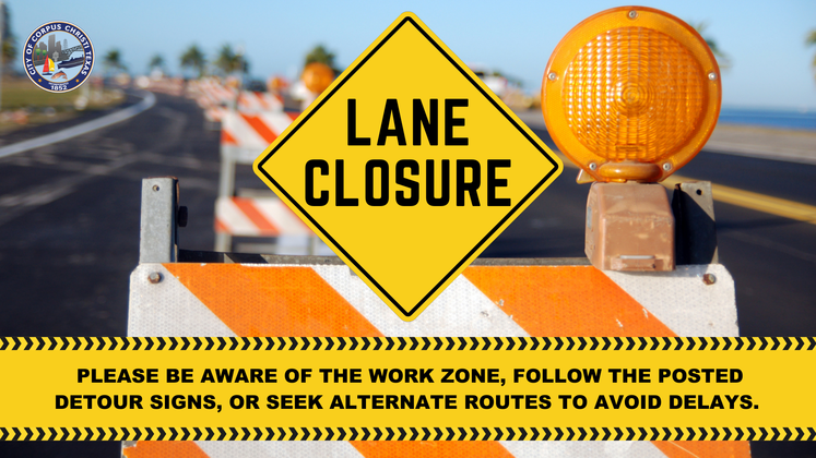 Lane Closure 4
