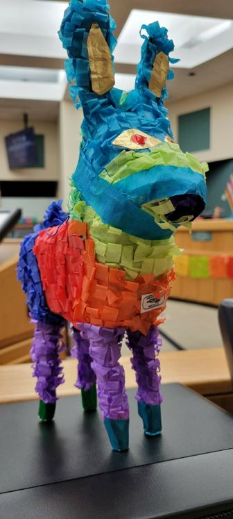 Mexican Piñata at City Hall, in Celebration of Hispanic Heritage Month