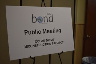 Ocean Dr. Project Public Meeting