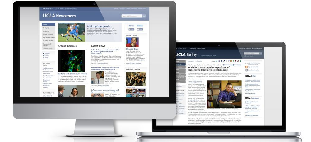 Client Case Study: UCLA Newsroom