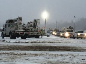 Duke Energy crews will follow the outages