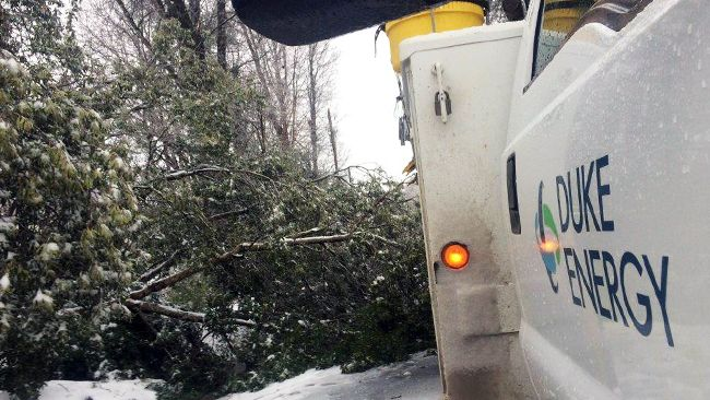 Duke Energy tackles power restoration in storm's aftermath