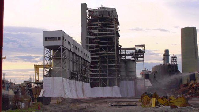 Duke Energy completes final implosion of Sutton Steam Plant  – Nov 9, 2016
