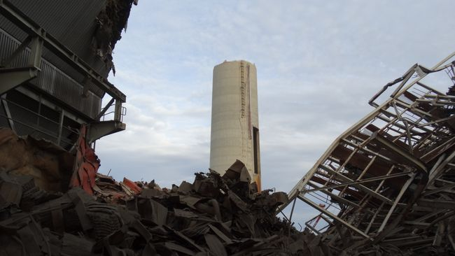 Sutton Boiler Demolition Photo