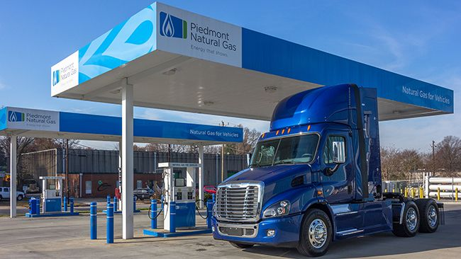 Piedmont Natural Gas seeing strong growth in CNG use by trucks, other fleet vehicles