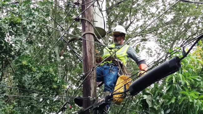 In the wake of Matthew, Duke Energy Florida crews work to restore normalcy