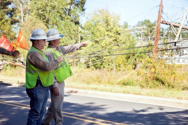 Damage in the Carolinas from Hurricane Matthew