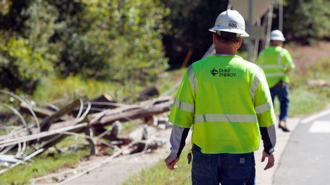 Duke Energy estimates power restoration times for Carolinas customers in aftermath of Hurricane Matthew