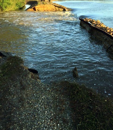 Cooling Pond Breach