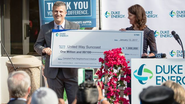 Duke Energy Florida invests $1 million in St. Petersburg's Campbell Park community