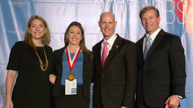 Duke Energy Florida receives Governor's Business Ambassador Award
