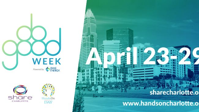 SHARE Charlotte and Hands On Charlotte to Partner on Inaugural DO GOOD Week Powered by Duke Energy