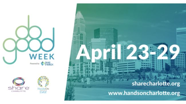 "SHARE Charlotte and Hands On Charlotte's ""DO GOOD Week"" is in full swing"