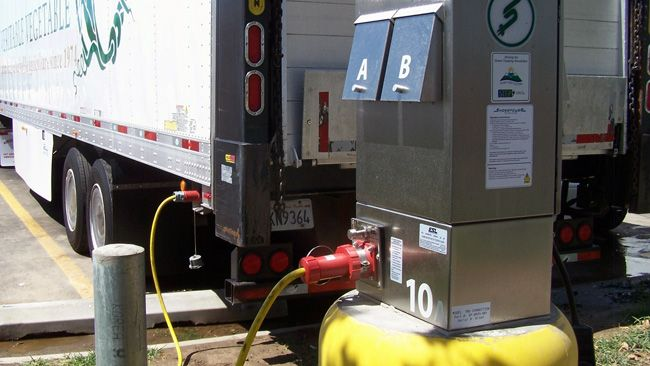 Don't start your engines! Duke Energy project tackles truck idling