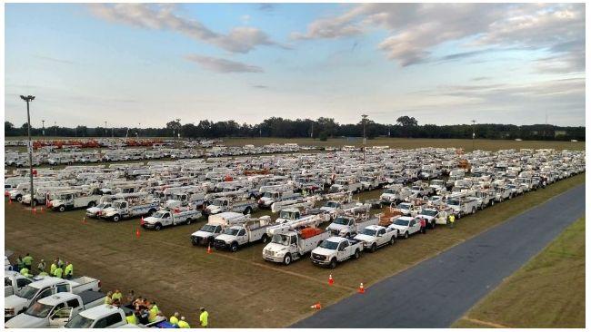 Casi 8,000 trabajadores de Duke Energy en Florida están listos para entrar en servicio después de que pase el huracán Irma