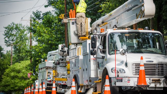 Duke Energy ready to respond to power outages in Carolinas as Irma blows into the region
