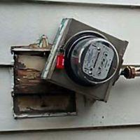 meter damage