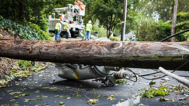 Duke Energy repairs 368,000 power outages in Carolinas after Irma