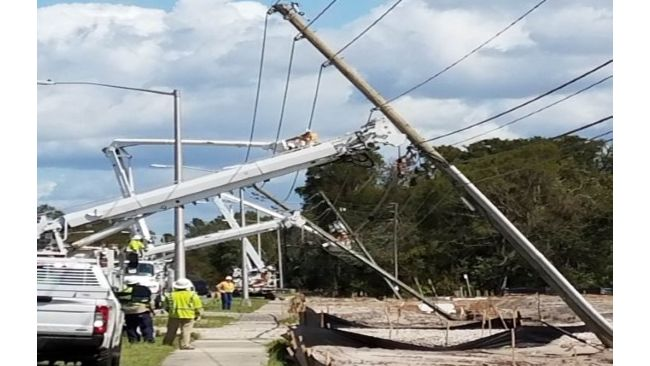 Duke Energy Florida announces 99 percent of customers' power restored in 21 counties; provides revised restoration times for remainder