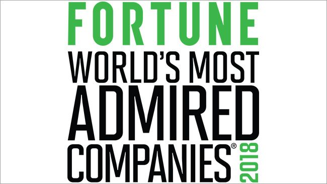 "Duke Energy named one of Fortune's ""World's Most Admired Companies"""