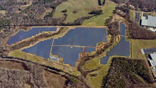 Mocksville Solar Facility