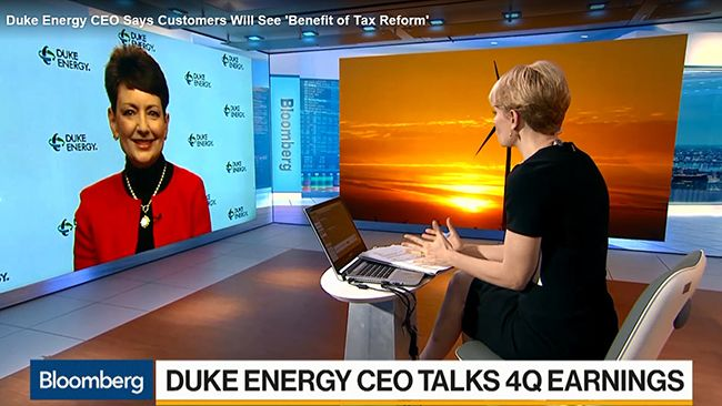 Duke Energy CEO Good discusses 2017 earnings, company strategy