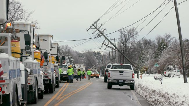 Winter Storm Recovery - Kernersville, N.C. Area