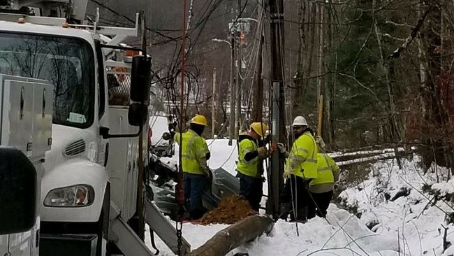 Winter Storm Recovery - Asheville, N.C. Area