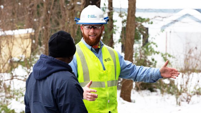 Duke Energy restores 685,000 power outages in the Carolinas; 45,000 customers remain without power after winter storm