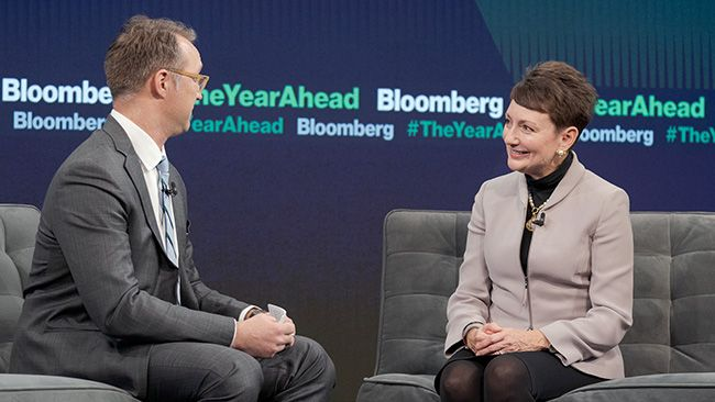 CEO Lynn Good speaks at Bloomberg's The Year Ahead summit