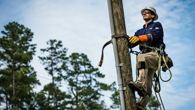 From chasing storms to scaling poles, Duke Energy lineworkers keep the grid running