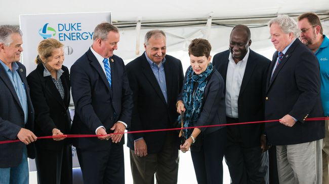 Duke Energy celebrates opening of new state-of-the-art natural gas plant at the W.S. Lee Station in South Carolina