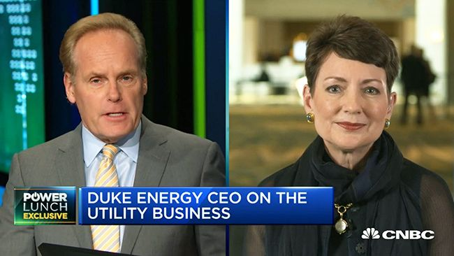 Duke Energy CEO discusses importance of infrastructure investment