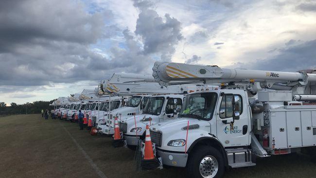Duke Energy está listo para el Huracán Florence con la mayor cantidad de recursos en la historia de las Carolinas
