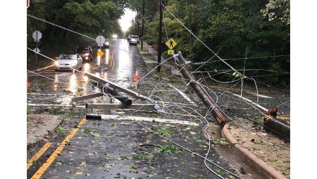 Hurricane Michael Carolinas