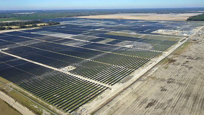 Duke Energy's Hamilton Solar Power Plant opens in Florida, providing more carbon-free energy for Sunshine State customers