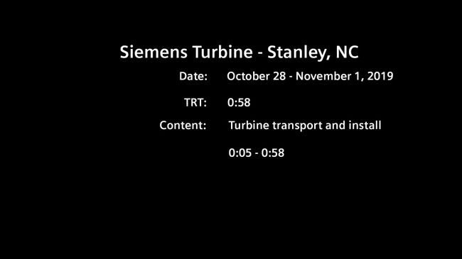 11-25-19 Lincoln Project Combustion Turbine Delivery B-Roll