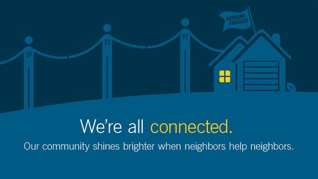 "Duke Energy, Carolina Panthers team up to ""Share the Warmth"" for neighbors in need"