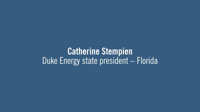 Citrus Combined Cycle Station Grand Opening - Catherine Stempien